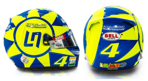 Norris has been a long-time admirer of the great Valentino Rossi