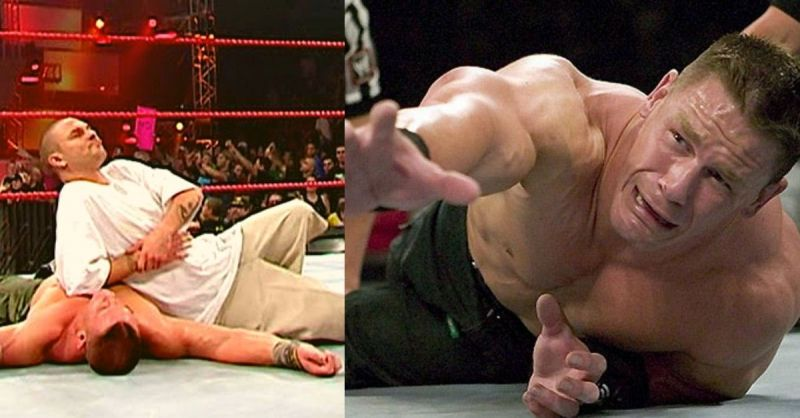John Cena has lost to some unlikely opponents