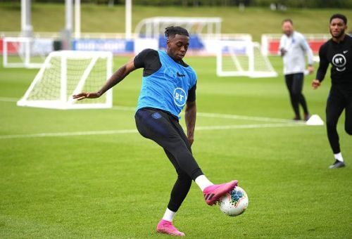 Aaron Wan-Bissaka picked up a back injury while on International Duty