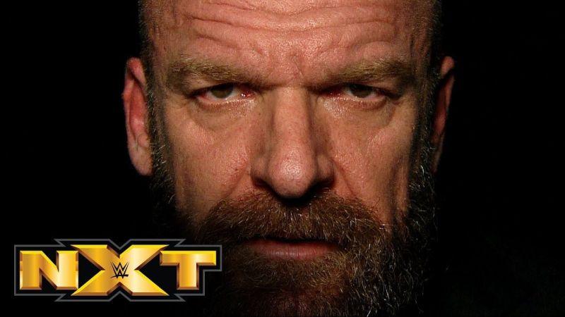 WWE NXT की जिम्मेदारी ट्रिपल एच के कंधों पर है