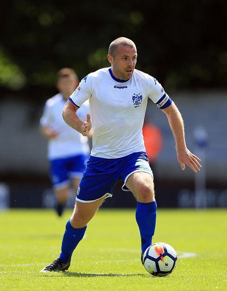 Bury FC midfielder Stephen Dawson