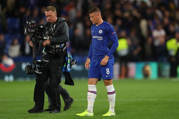 It was a night to forget for Ross Barkley