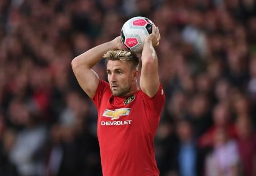 Luke Shaw is out with a hamstring injury