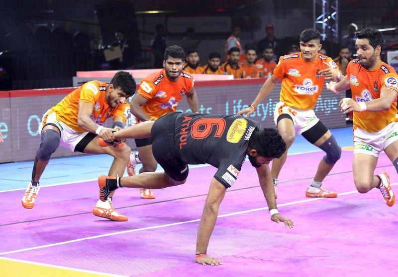 Puneri Paltan held on to draw against U Mumba