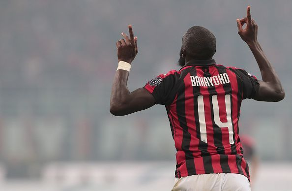 Bakayoko was on target against Inter, but couldn