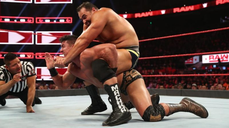Rusev finished him off quick