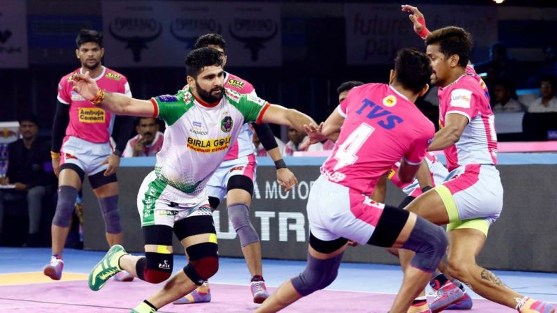 Pardeep Narwal notched up yet another Super 10