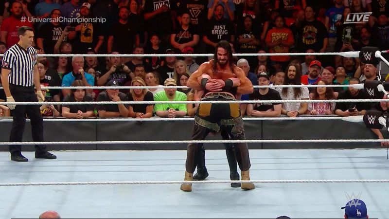 Rollins was able to defeat Braun Strowman whilst using just 6 moves
