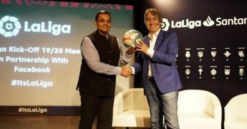 ला लीगा के मैनेजिंग डायरेक्टर (भारत) ने यह घोषणा की