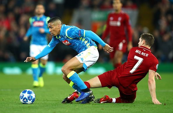Liverpool and Napoli will face each other in the Champions League group stages for the second season running