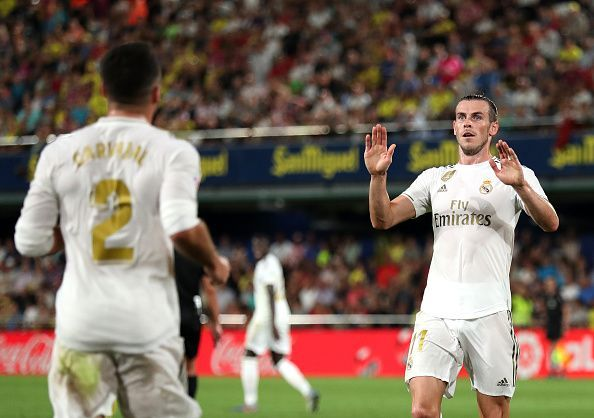 Having come up clutch for club and country in recent weeks, Bale will serve a one-match suspension