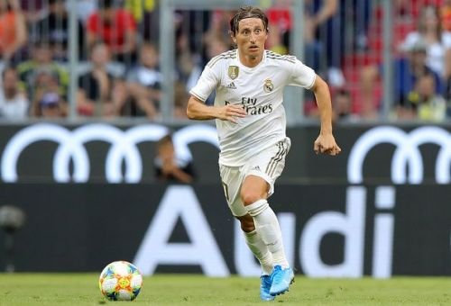 Luks Modric won the coveted prize last year.