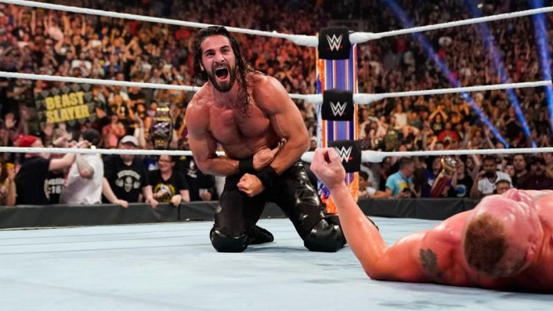 Seth Rollins just came off a big win over Brock Lesnar