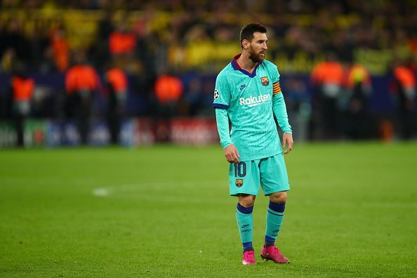 This game marked the return of Lionel Messi