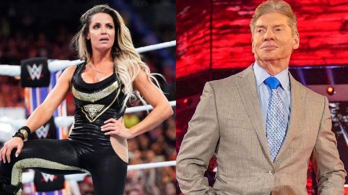 Trish and McMahon