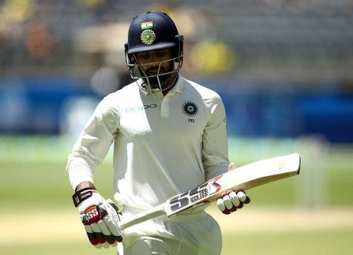 Hanuma Vihari recorded his first-ever Test ton yesterday