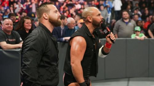 Scott Dawson & Dash Wilder are two-time Raw Tag Team Champions