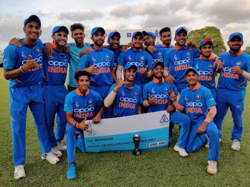 भारत ने जीता अंडर 19 एशिया कप