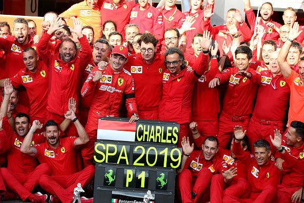 Charles Leclerc dedicated his maiden race win to his friend, Anthoine Hubert