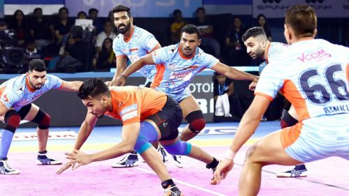 Bengal Warriors defeated U Mumba once again this season