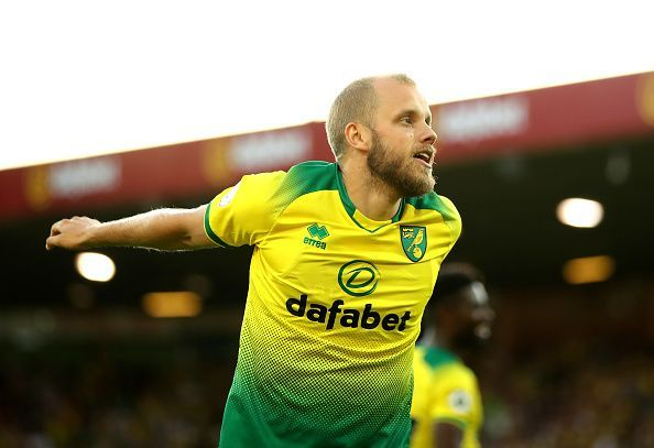 Teemu Pukki has scored six goals in the Premier League