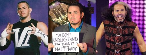 Some of Matt Hardy's best gimmicks