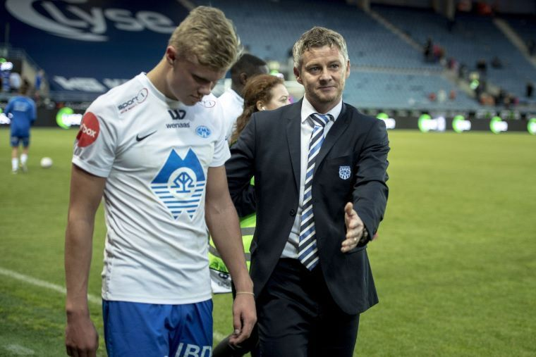 Ole coached Haaland during his time at Molde