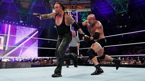 Goldberg vs Taker was heavily criticized