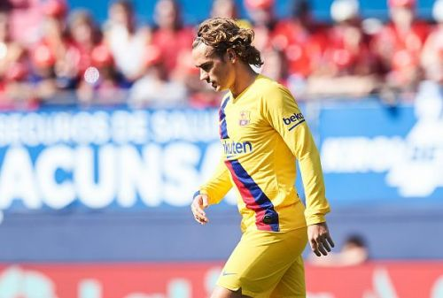 Antoine Griezmann failed to inspire Barcelona on Matchday 3