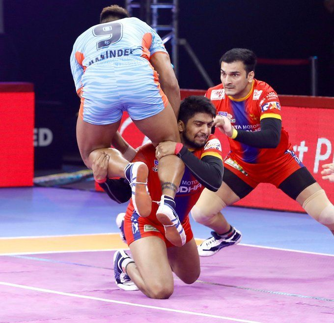 UP Yoddhas won a closely-fought battle against the Bengal Warriors