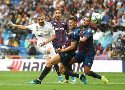 Benzema has four goals for Real Madrid already this season