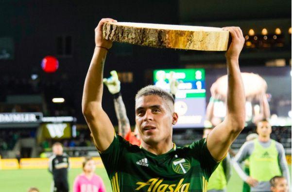 Timbers striker Brian Fernandez