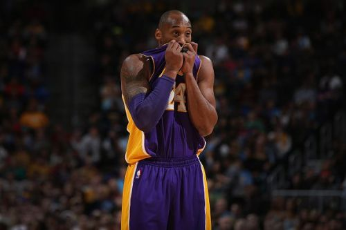 Koe Bryant endured some difficult nights in a Lakers uniform.