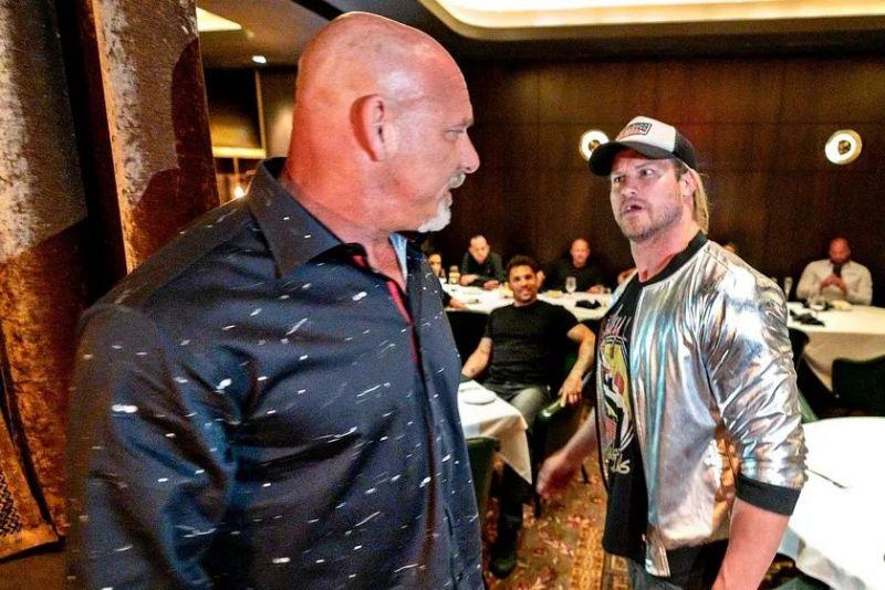 Goldberg and Ziggler crossed paths recently in Las Vegas
