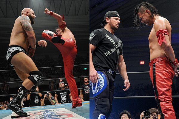 Styles was determined to win the IWGP IC Title in his first attempt