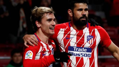 Diego Costa and Antoine Griezmann enjoyed a healthy partnership at Atletico Madrid