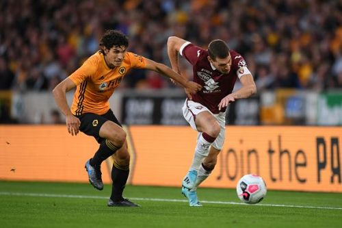 Jesus Vallejo is in line to make his first PL start for Wolves
