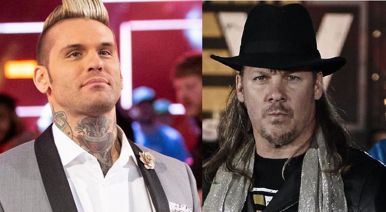 Corey Graves stated that his comment was nothing but a friendly jibe at Jericho