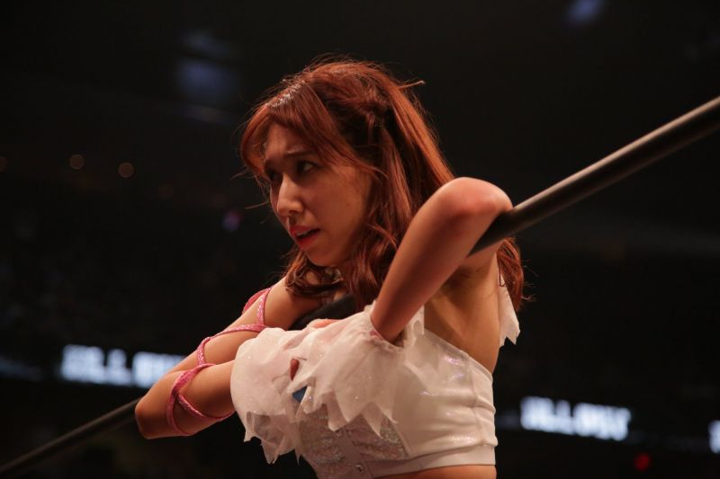 Riho seems a little worried about her upcoming match with Nyla Rose on October 2nd.