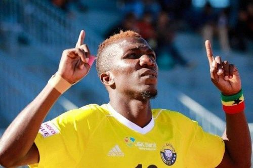 Abednego Tetteh played for Real Kashmir FC last season