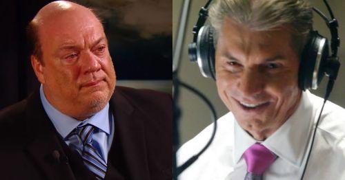 Paul Heyman and Vince McMahon.