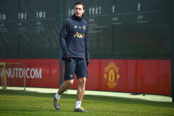 Matteo Darmian spent four seasons in England with Manchester United.