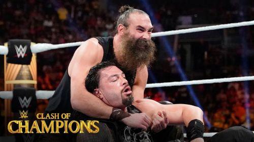 Harper returned last night to help Erick Rowan get the win over Roman Reigns.