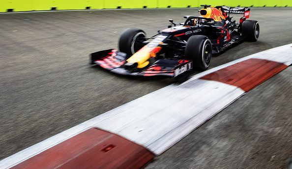 Max Verstappen topped the sheets during the first practice session