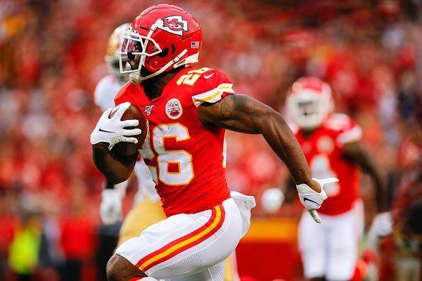 Chiefs RB, Damien Williams