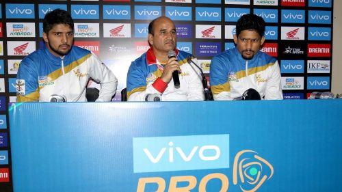 तमिल थलाइवाज के खिलाफ मैच के बाद यूपी योद्धा की प्रेस कॉन्फ्रेंस