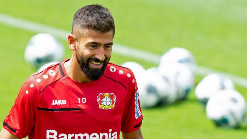 Kerem Demirbay is doubtful for his first Champions League fixture as a Leverkusen player