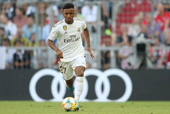 Rodrygo could provide a bit of spark to Real Madrid