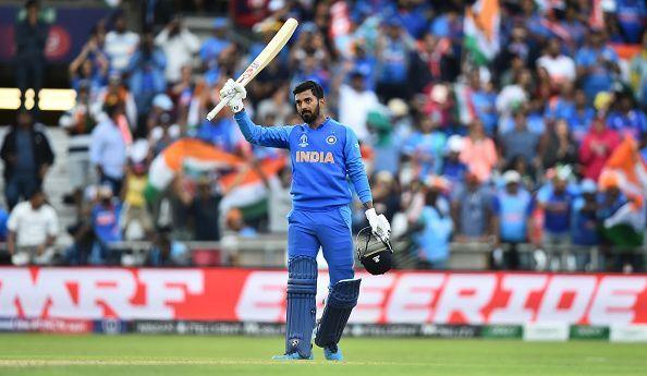 KL Rahul played a slow knock of 29 runs