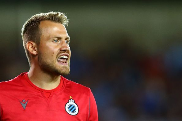 Simon Mignolet was signed from Liverpool this summer.